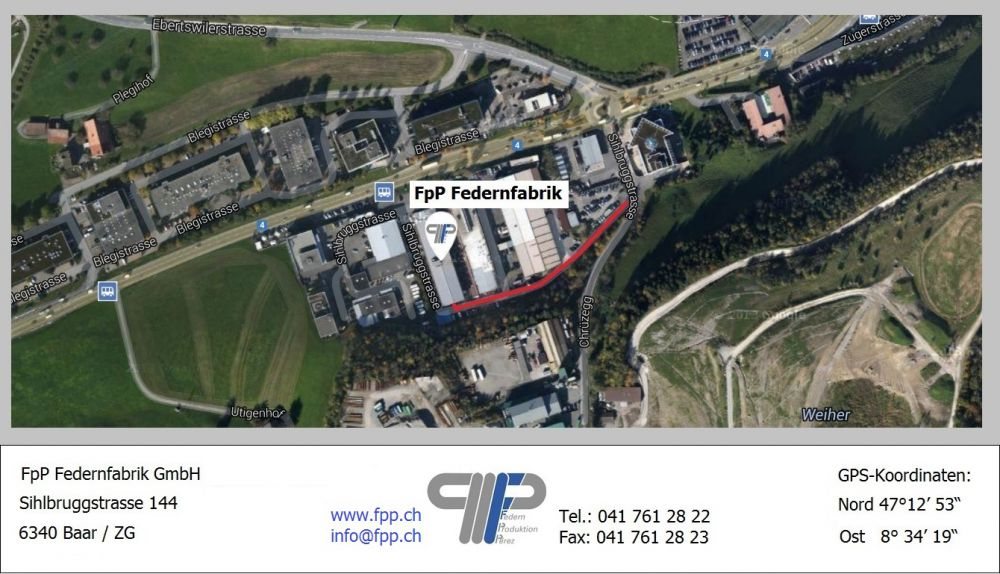 FpP ressorts emplacement